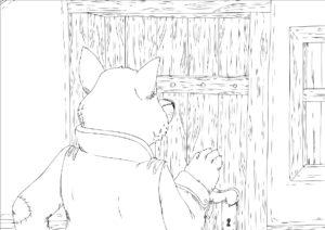 bildserie: der wolf und die sieben geißlein - zaubereinmaleins shop