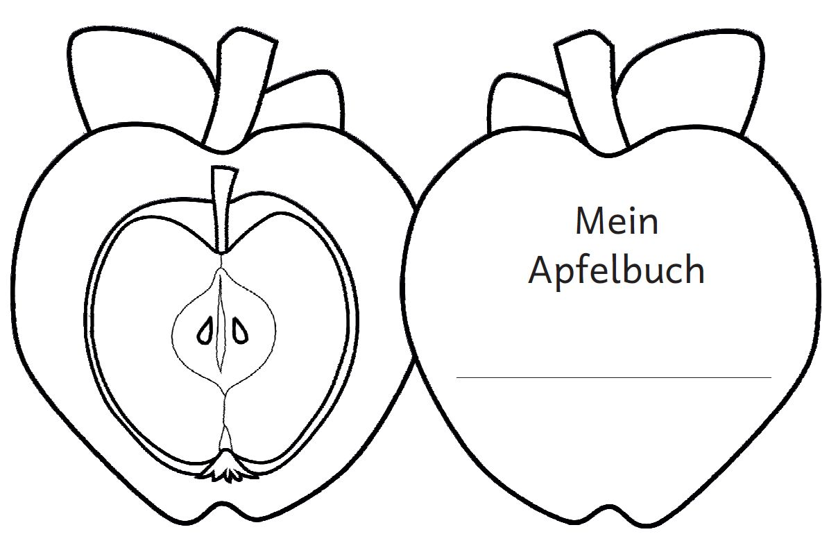 Apfel Faltbuch Zaubereinmaleins Shop